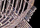 Saint Mossi Modern Crystal Raindrop Chandelier