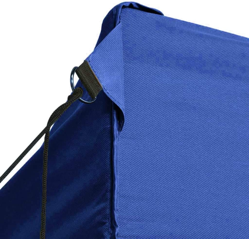 Festnight Tenda Gazebo da Giardino Esterno Pieghevole Impermeabile con 3 Pareti Blu 3x4,5 m,Gazebo da Giardino Pieghevole Impermeabile