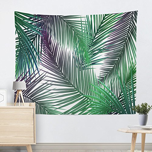 XINSU Home Wandbehangstrandtuch-Stranddecke der Grünpflanzteppichwand (Farbe (Farbe (Farbe   D001, Größe   200  150cm) B07LD7BPWB Wolle 4eb760