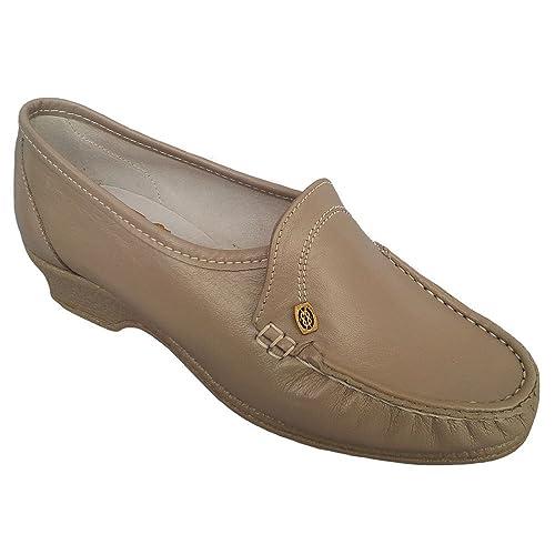Sandpiper - Mocasines para mujer beige beige, color beige, talla 35.5: Amazon.es: Zapatos y complementos
