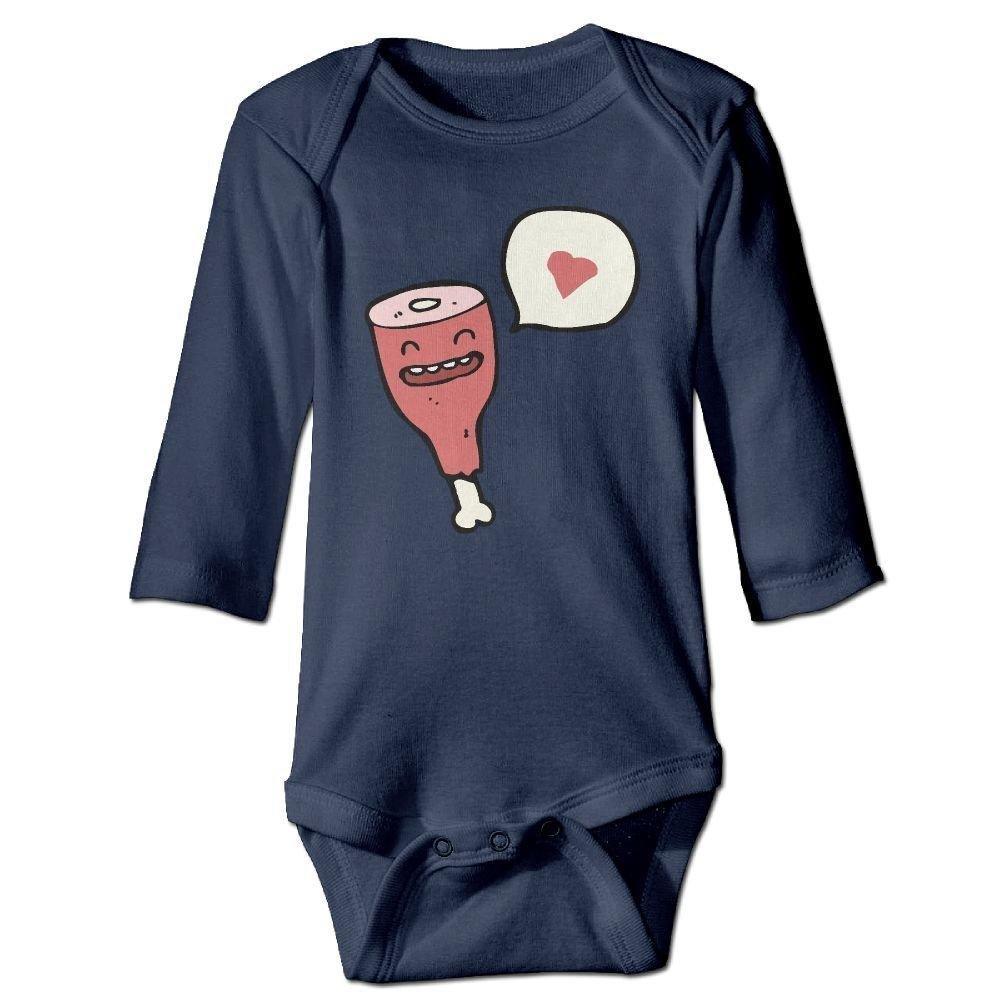 Babys Cartoon Ham PROFESSING Love Long Sleeve Romper Onesie Bodysuit Jumpsuit