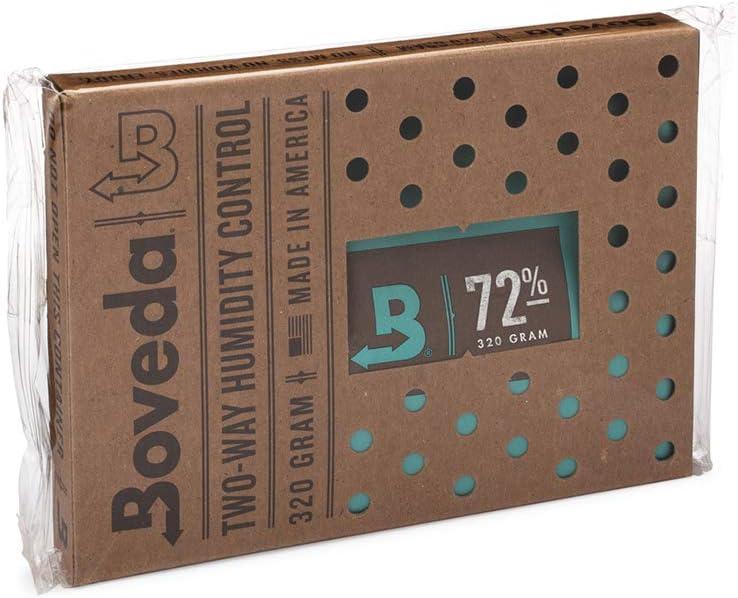 Boveda Inc. - Humidificador y deshumidificador de 2 vías para humidificadores grandes, 72 % RH (320 g)