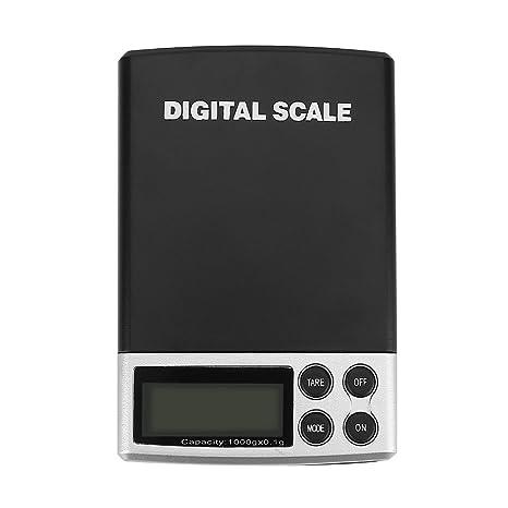 Báscula Digital para Cocina, Balanza de Alimentos Multifuncional Báscula Cocina con Función de Tara
