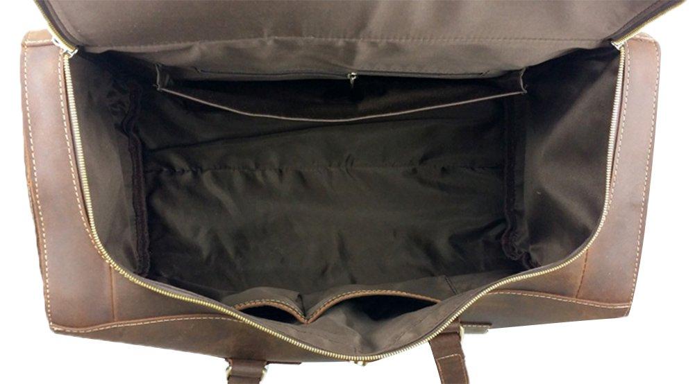 Genda 2Archer Vintage Travel Duffel Bag Boarding Luggage Carry On Gifts for Men by Genda 2Archer (Image #4)