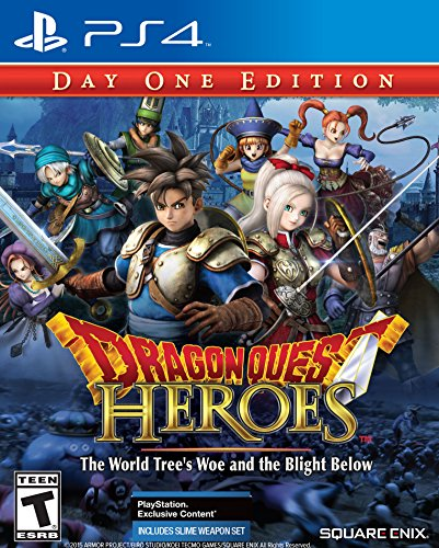 - Dragon Quest Heroes: The World Tree's Woe and the Blight Below