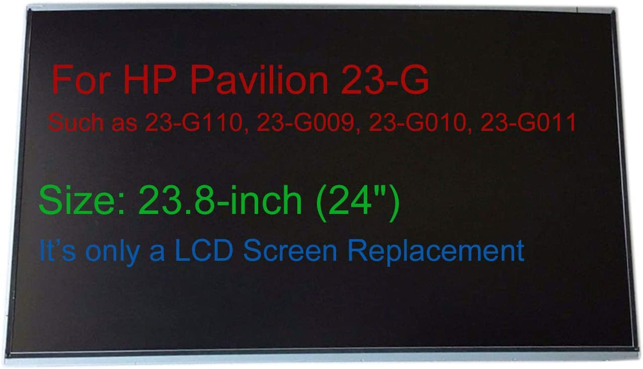 "Krenew 23.0"" Screen Replacement LCD LED Display Repair Glass 1920x1080 Full HD for HP Pavilion 23-G110 23-G009 23-G010 23-G011 23-G116 23-G209 23-G218 (Non-Touch)"