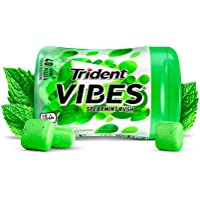 Trident Vibes Spearmint Rush Sugar Free Chewing Gum - 6 Bottles (240 Pieces Total)