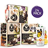 SUPER DETOX ME Metabolism Booster 3 Day Reset Cleanse, Jumpstart Weight Loss, Break Bad Habits, Feel Lighter & with Increased Energy - Non-GMO & Gluten-Free Certified- 24 Juices (Pack of 3)