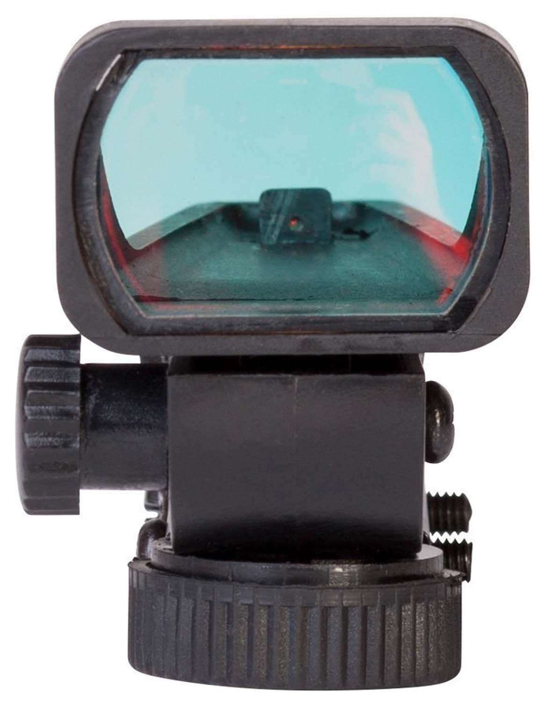 MAYMOC pista di 11mm inferiore regolabile grande vista Red Dot Sight