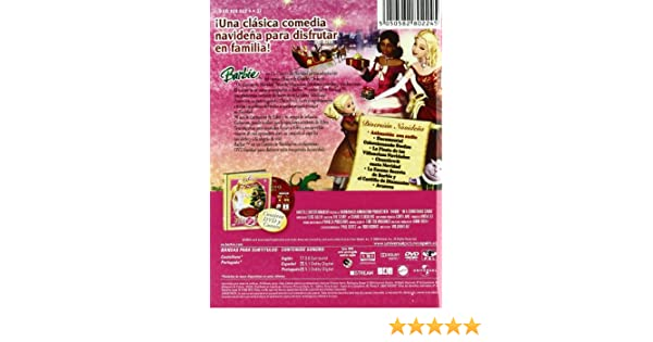 Barbie En Un Cuento De Navidad + Libro [DVD]: Amazon.es: William Lau: Cine y Series TV