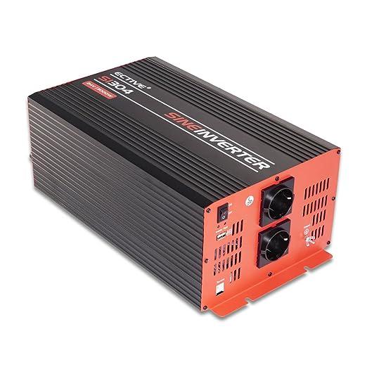 3 opinioni per ECTIVE Serie SI | Onda sinusoidale Inverter 24V a 230V | 7 varianti: 300W- 3000W