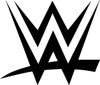 WWE Logo Wall Decal Wrestling Vinyl Sticker Sport Wall Art Design
