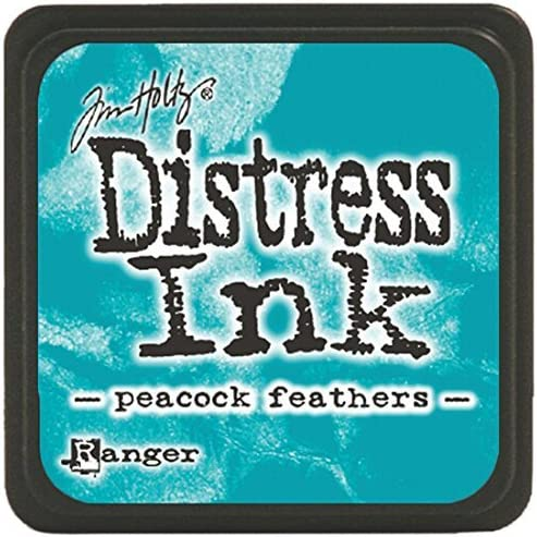 Tim Holtz - Distress Mini Ink Pad - Peacock Feathers Ranger ...