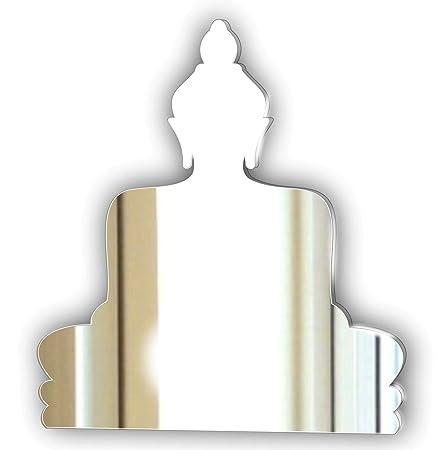 Mirrors Interiors Januar Deko Acryl Spiegel Buddha Wohnzimmer