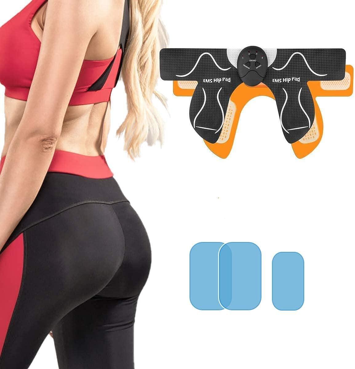 Abs Stimulator Machine Hips Trainer Thigh Toner Butt Lift Workout Equipment