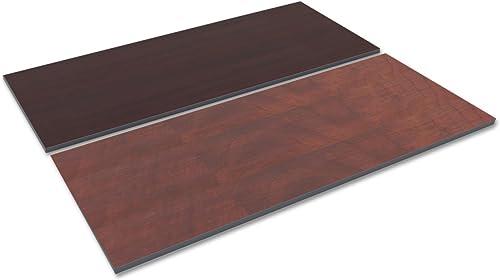 Alera TT7230CM Reversible Laminate Table Top, Rectangular, 71 1 2 X 29 1 2, Med Cherry Mahogany