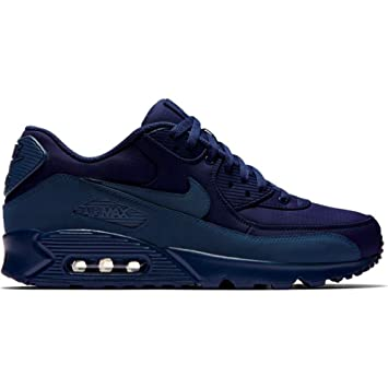 NIKE Buty Air Max 90 Essential Midnight Navy Shoes, Blue, 43