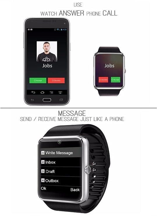 YinoSino GT08 Smart Watch / Reloj inteligente GT08 (disponible en ...