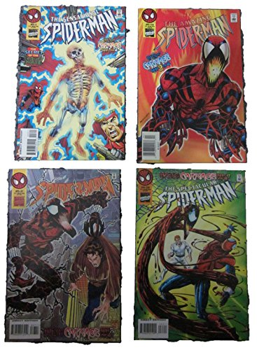(Spider-Man, Web of Carnage, complete series. Parts 1-4,