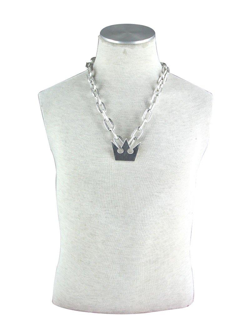 Mtxc Kingdom Hearts Cospaly Accessories Sora Necklace Silver