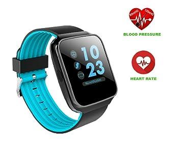 Hangang Bluetooth Reloj Inteligente Pantalla táctil de ...