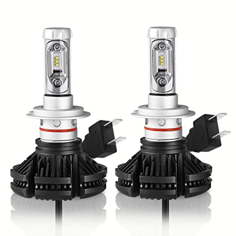Amazon Com Mesllin Led Headlight Bulb 100w Set 12 000 Lumens 3000k