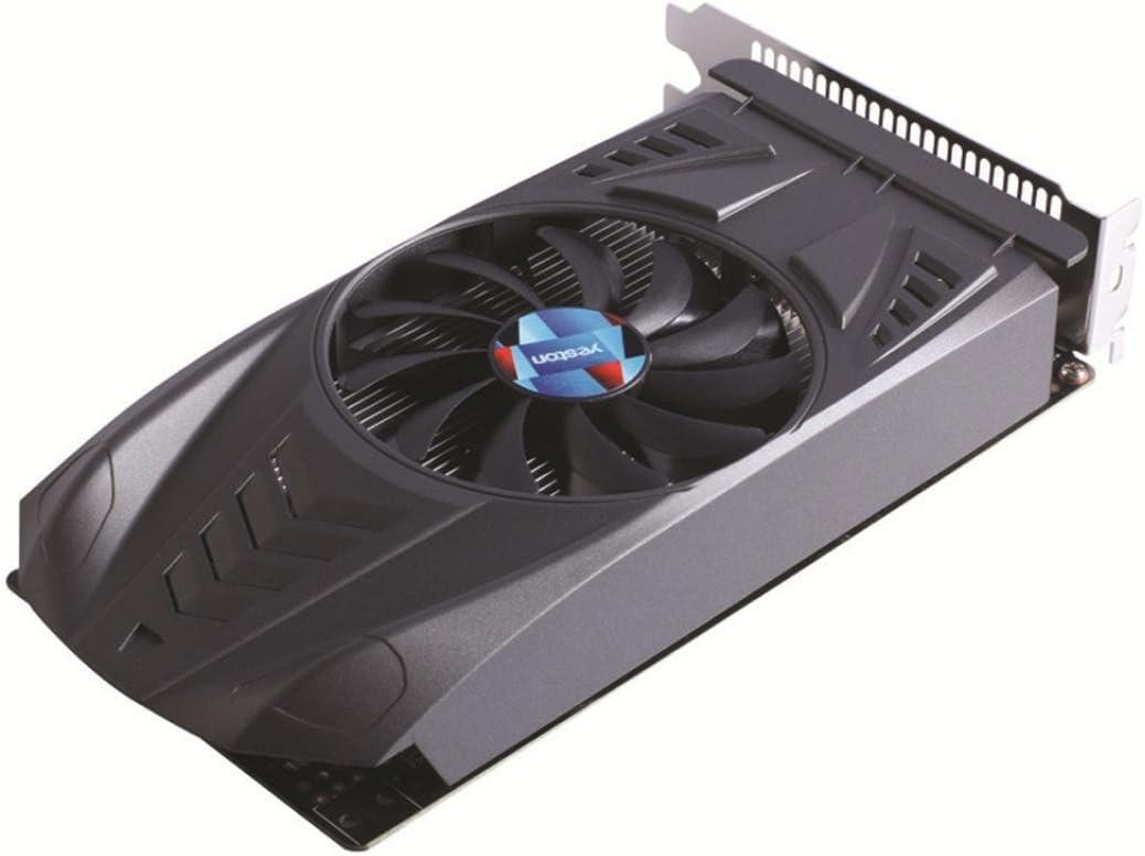 Black Computer Graphics Cards-2018 Hot Sale Yeston GeForce GTX 1050Ti GPU 4GB GDDR5 128 bit Gaming PC Video Graphics Cards