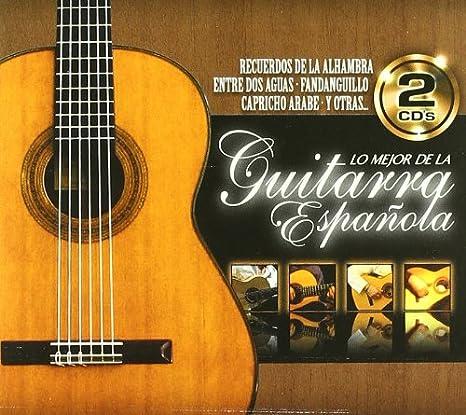 Lo Mejor De La Guitarra Española: Various Artists: Amazon.es: Música