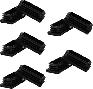 1 x 2 Inch Tubing Plastic Plugs,1 x 2 Tubing End Caps 1