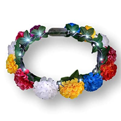 blinkee Light Up Rainbow Flowers Fairy Halo Crown Headband by: Toys & Games