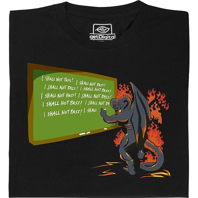 getDigital balrog Shall Not Pass – Geek Camiseta para ordenador frikis de Justo gehandelter de algodón