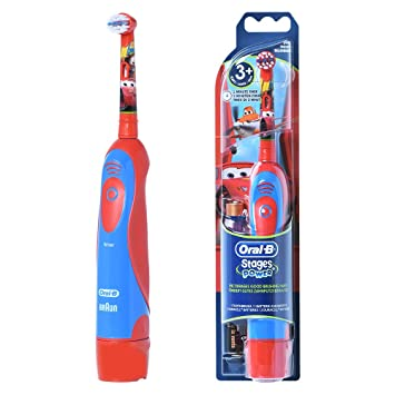 Amazon.com  Braun ORAL-B 4510K Stages Power Electric Toothbrush Kids Disney  Cars  Beauty 24894647f33a8
