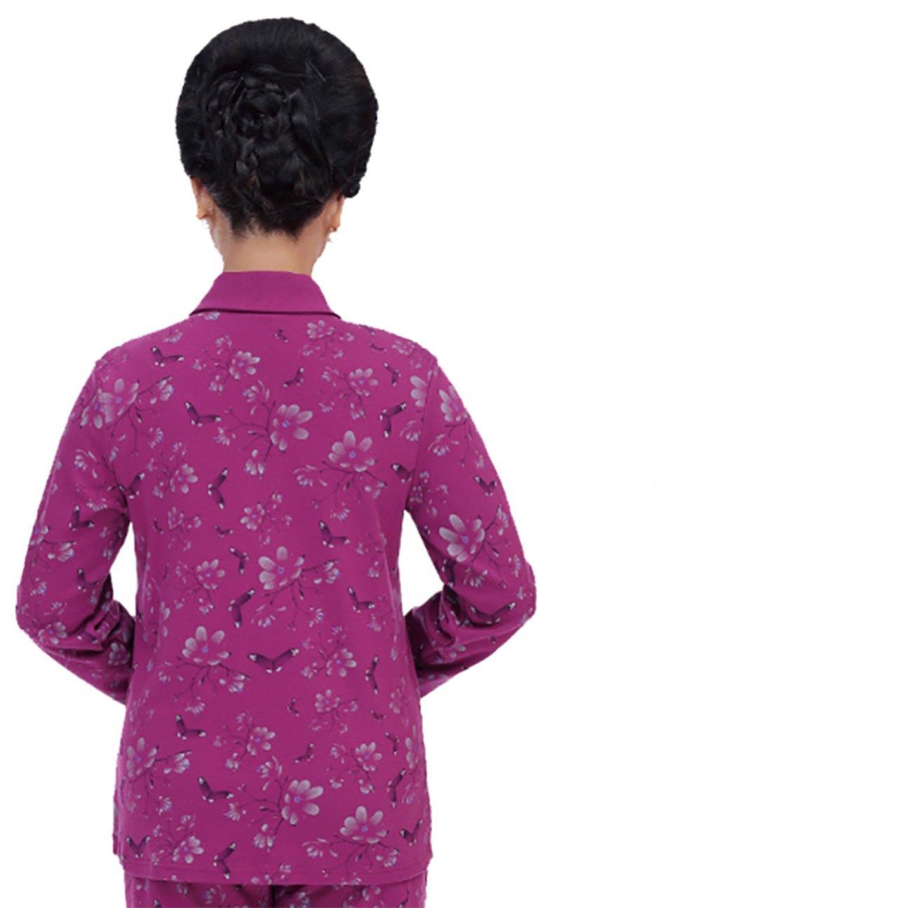 Pijama avanzada de mujer Trajes de mediana edad y edad de avanzada ...