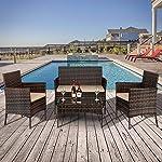 Wealthgirl-Set-di-4-mobili-da-giardino-in-vimini-con-tavolino-da-salotto-in-vetro-temperato-divano-e-sedie-in-rattan-con-cuscini-per-sedere-giardino-piscina