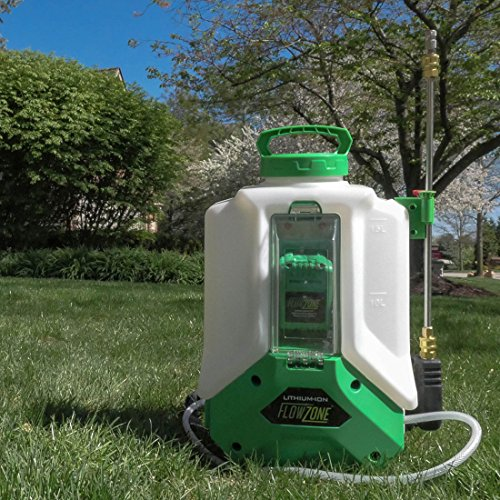 Typhoon 4-Gallon Multi-Use Continuous-Pressure 18V/5.2Ah Lithium-Ion Backpack Sprayer by FlowZone (Image #4)