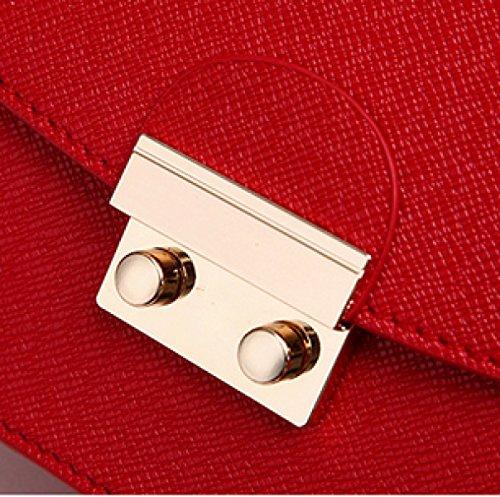 Corea técnicos Versión Normal barniz de hombro de clásico de caramelos de colores de beiläufiger Damas de bolsa, rosa azul