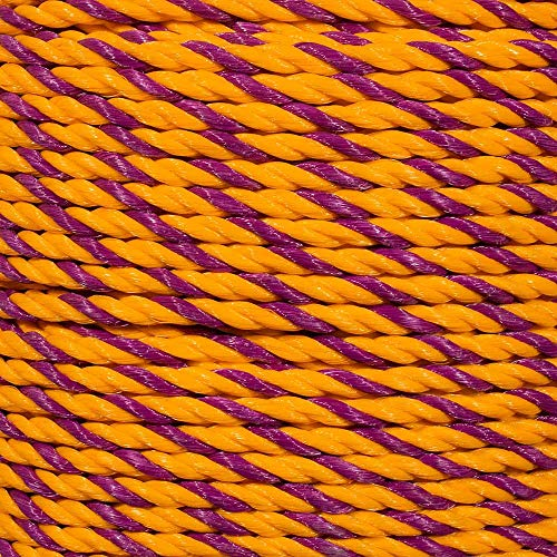 Golberg Twisted Polypropylene Rope – 1/4, 5/16, 3/8, 1/2, 5/8, 3/4, 1, 1-1/4, 1-1/2 and 2 Inch Diameters – 10-1200 Foot Lengths – Resistant to Moisture, Chemicals, Oil, and Rot – Marine, Nautical by GOLBERG G (Image #2)