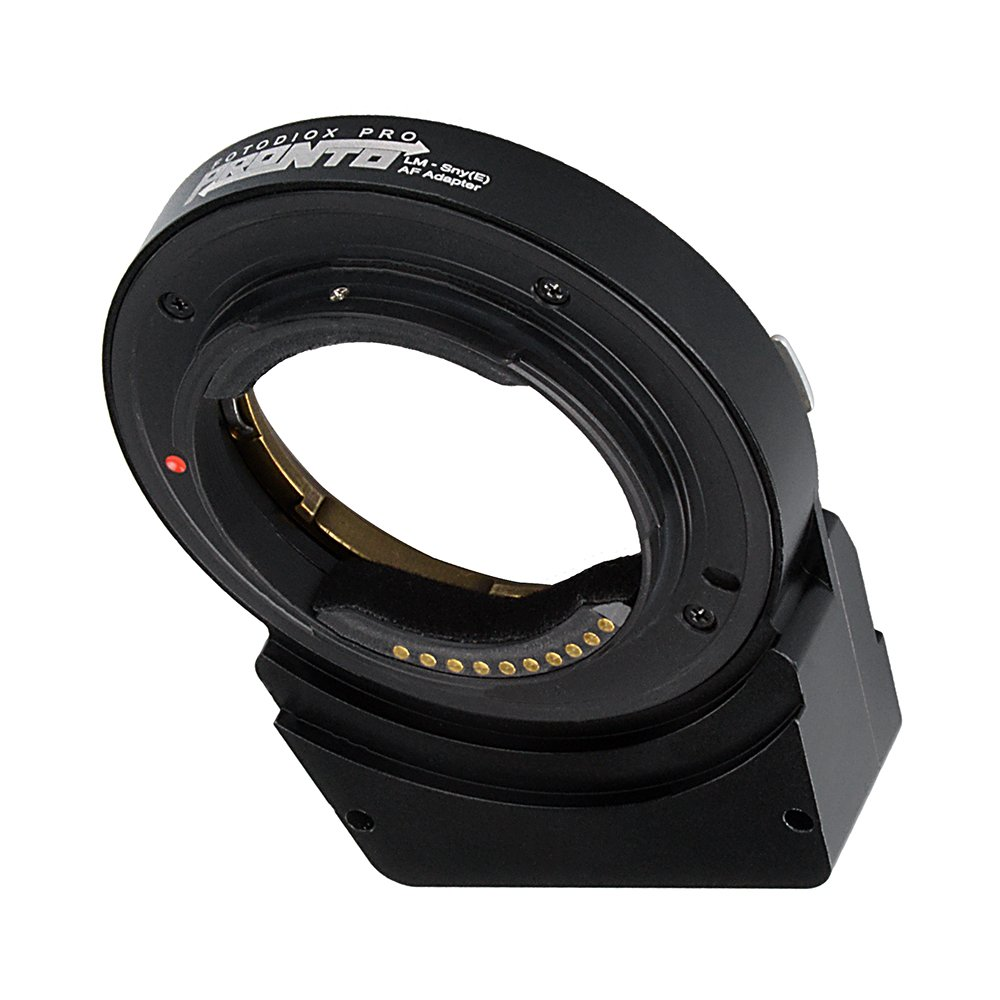 Fotodiox Pro PRONTO Adapter - Leica M Mount Lens to Sony E-Mount Camera Autofocus Adapter by Fotodiox (Image #3)