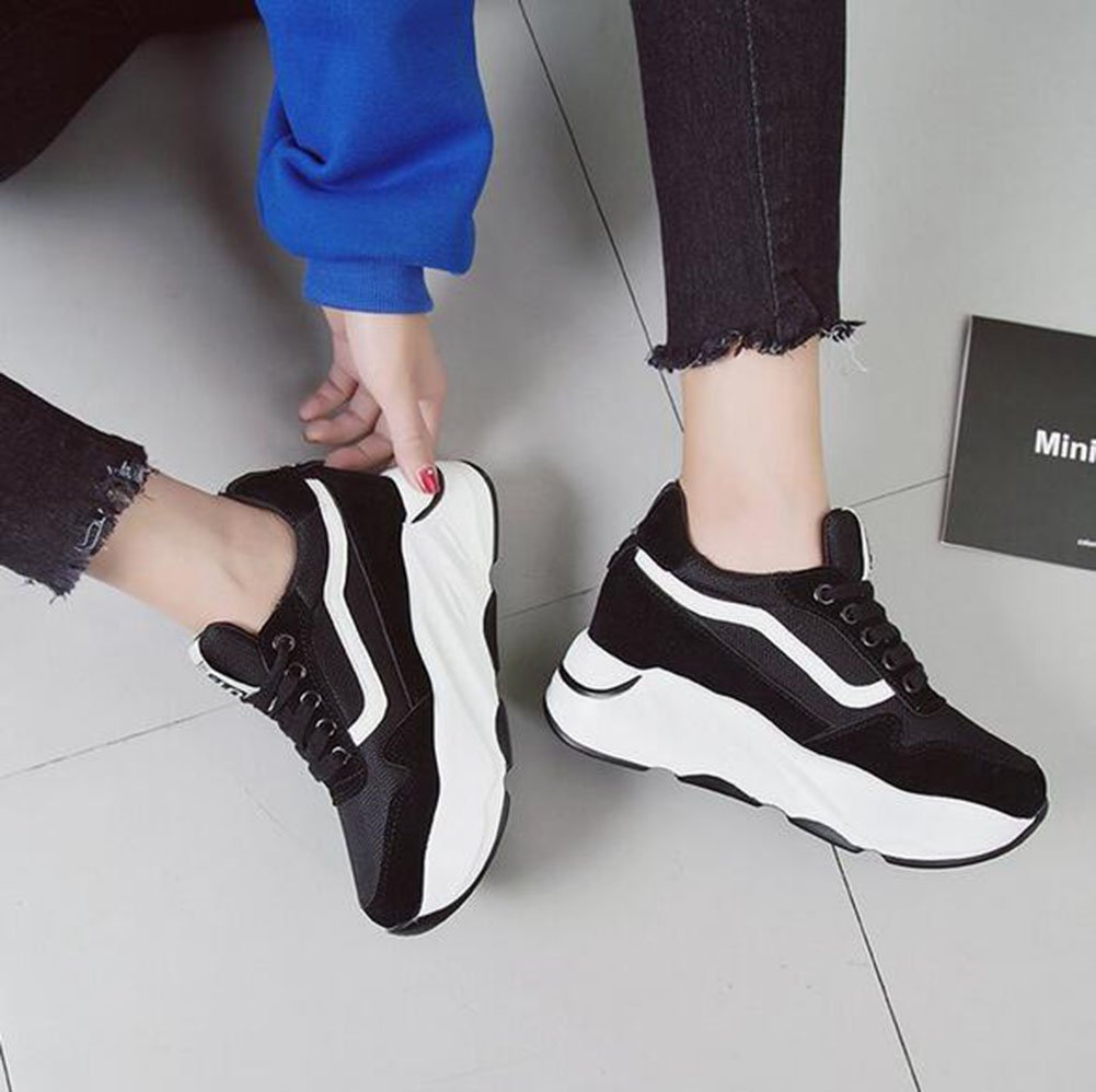 Amazon.com: Womens Sneakers Casual Shoes 2018 Spring, Summer, Fall New High-Top Sneakers Casual Shoes Womens Shoes Sports High-Top Sneakers Platform Shoes ...