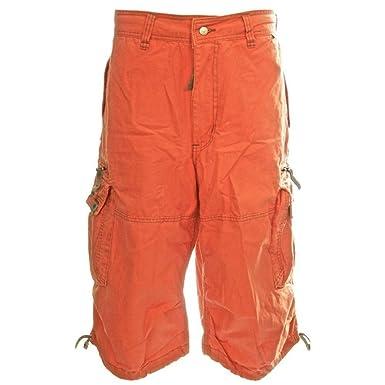 Orange Medium Short Homme Cargo Molecule KJFcTl1