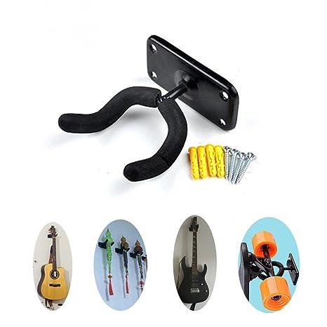 Maxfind P25 Metal Storage Ski Wall Mount Rack Para Guitarra Longboard Electric Skateboards (1 Pack): Amazon.es: Deportes y aire libre
