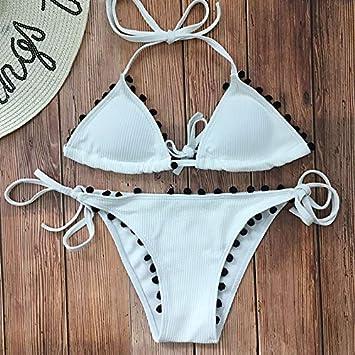 GH-YS Triángulo De Color Sólido Bikini Bolsa De Triángulo ...