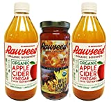 Rawseed Combo 2 Organic Apple Cider Vinegar and 1 Organic Wildflower Brazilian Honey Review