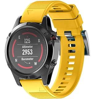 Bestow Garmin Fenix 5 Reloj GPS Silicagel de Instalaci¨n r¨pida Band Strap Band