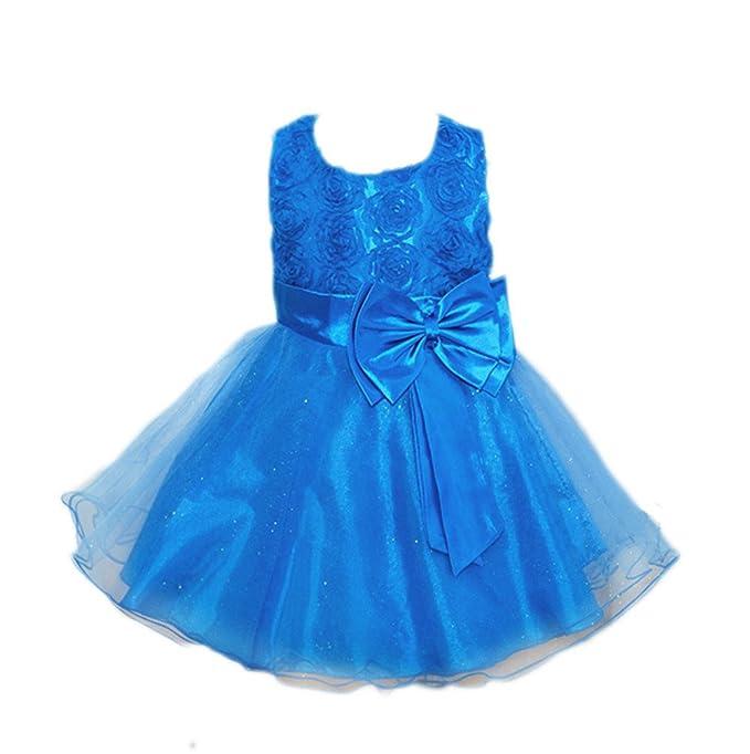 Kinder Mädchen Kleid Ulanda Festlich Kinderkleid Blumensmädchenkleid  Festzug Hochzeit Pailletten Prinzessin Kleid Tutu Tulle Gown Partykleid 3a212906d4