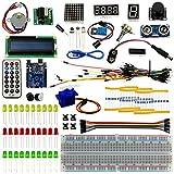 BeGrit Universal Ultimate UNO R3 Starter Kit 100% Arduino-Compatible, UNO R3 Board Includes