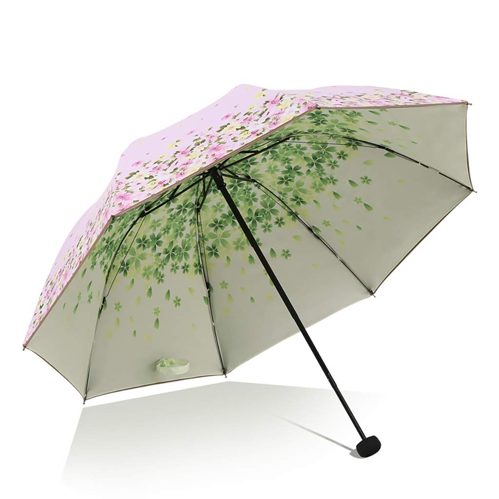Umbrella Shi Hao Tian Manual Oversized Sun Protection and UV Protection Parasol Compact, Durable and Lightweight Multicolor Selection (Color : B)