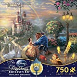 Disney Dreams Collection Beauty and the Beast ''Falling in Love'' Jigsaw Puzzle by Thomas Kinkade