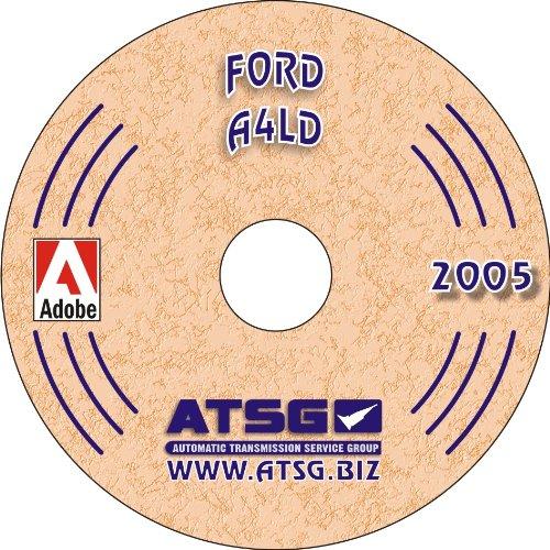 ATSG Ford A4LD Techtran Transmission Manual (Bronco Ford Transmission)