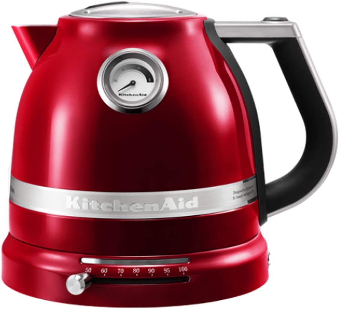 KitchenAid - Hervidor de agua rojo: Amazon.es: Hogar